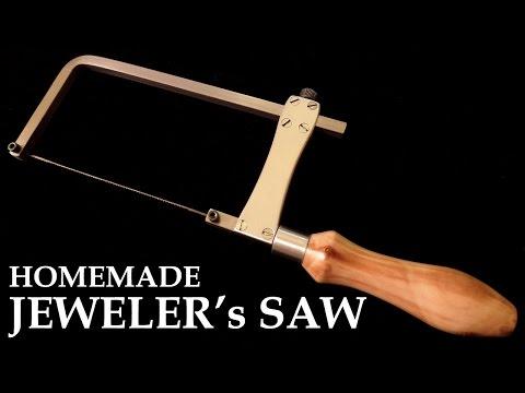 Homemade Jeweler's Saw - Metal Cutting Coping Saw