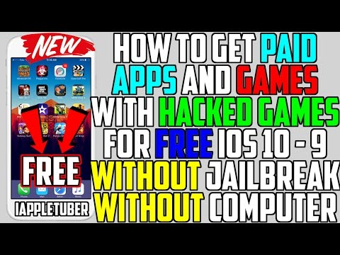 Get PAID Apps + HACKED Games FREE iOS 10 - 10 2 / iOS 9 (NO