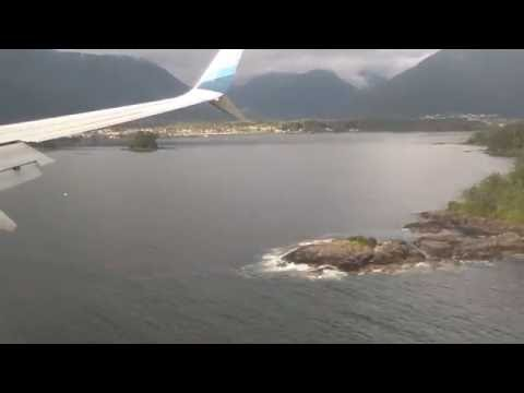 Landing and Taking Off at the Sitka Alaska Airport