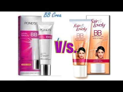♥Fair & Lovely BB Cream Vs. Ponds BB Cream ♥ | Comparison Between BB Creams | SuperBeautyDezires