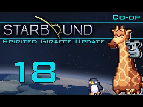 How to Build a Spiral Staircase (Starbound | Part 18) [Spirited Giraffe Update]