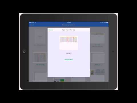 Numbers for iPad: How to Create a Spreadsheet on iPad and Basic Controls