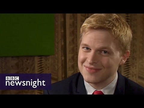 Ronan Farrow: quickfire questions - BBC Newsnight