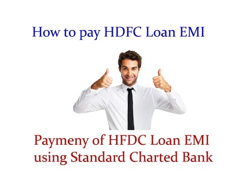 How to pay HDFC Loan EMI using other bank October 4th 2017