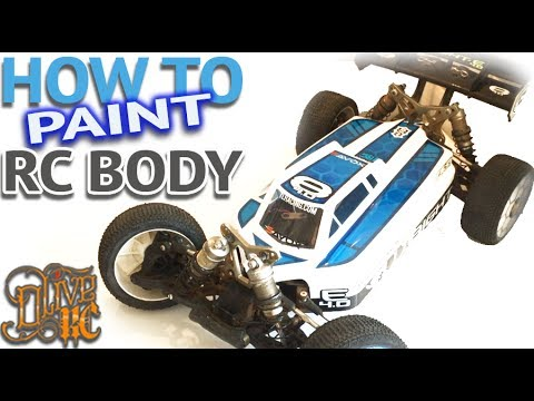 HOW TO PAINT A RC BODY