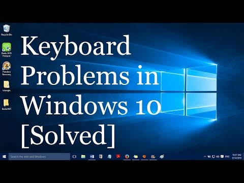 How to fix keyboard problems in windows 10 laptops and desktops