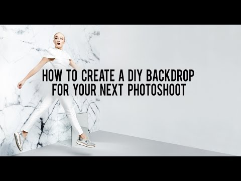 How to create a DIY printed backdrop for your next photo shoot