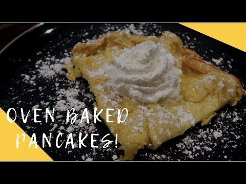 Baked Pancakes | Dutch Babies / German Pancakes / Puffed Oven Pancakes