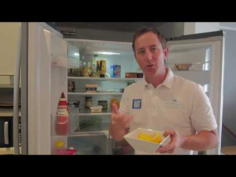 The 1 Min Cleaning Tip - Cleaning the inside of your fridge