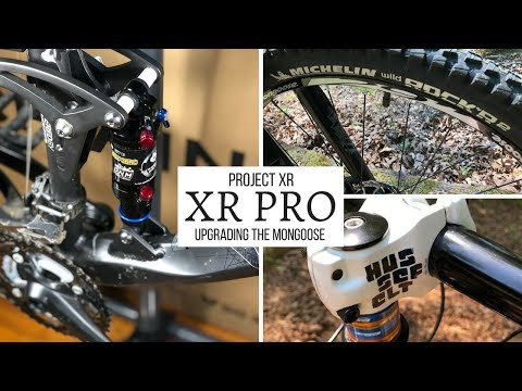 Project XR - Upgrading the Mongoose XR Pro mountain bike