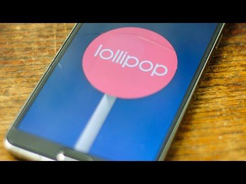 Official 5.0 Lollipop Verizon Note 3