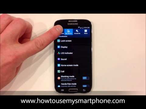 How to Change your Ringtone - Samsung Galaxy