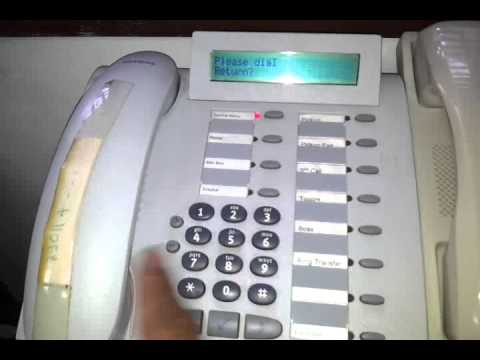 How to set forward call digital phone
