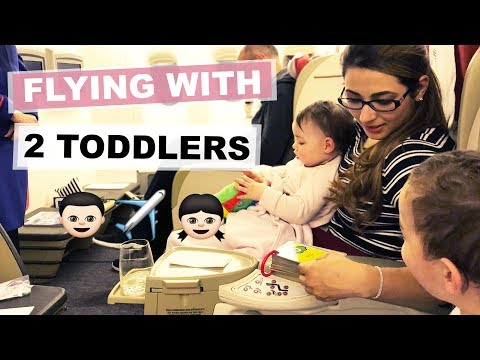 TIPS FOR FLYING WITH 2 TODDLERS   LONG HAUL FLIGHT TIPS WITH A BABY   Ysis Lorenna