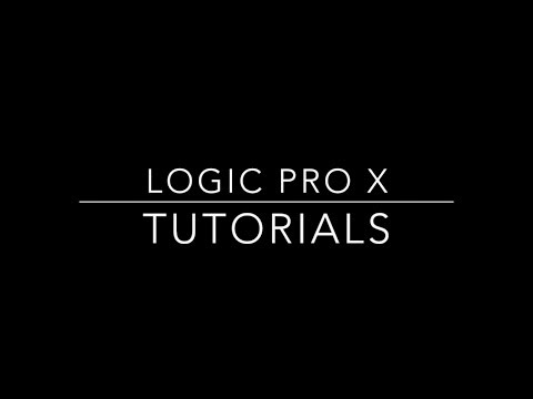 Logic Pro X - How To Create Fades