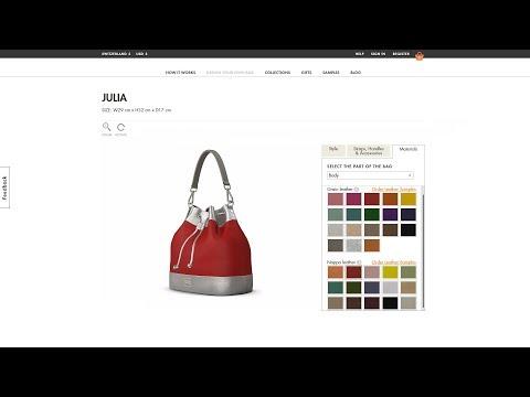 Handbag Configuration System for DIZAIND