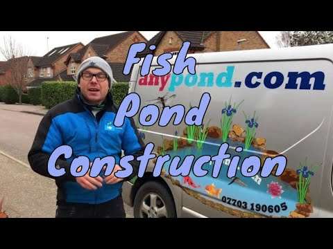 Fish Pond Builders - Northamptonshire UK - Pond Builders UK