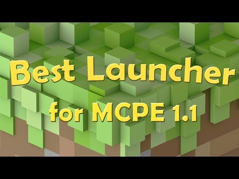 Best Launcher for Minecraft PE - MCPE Master