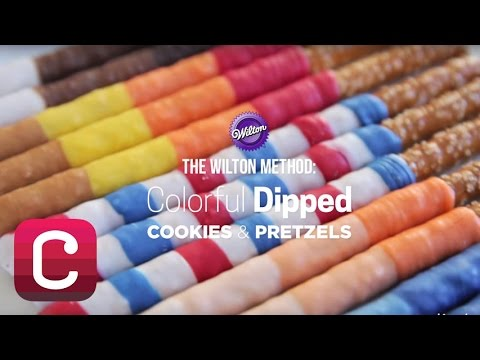 Colorful Dipped Cookies and Pretzels | Creativebug