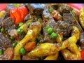 Caribbean Stewed Beef With Coconut Dumplings.