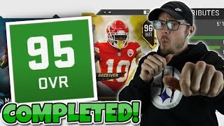 MADDEN'S BEST 95 OVERALL DRAFT COMPLETED!? Madden 19 MUT Draft