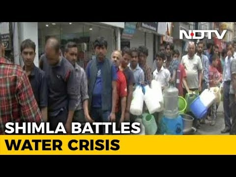Shimla Battles Water Crisis, Locals Ask Tourists To Stay Away