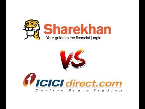 Sharekhan Vs ICICI Direct - Detailed Comparison