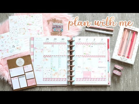 Plan With Me Sunday - NEW STICKERS & WASHI CARD!