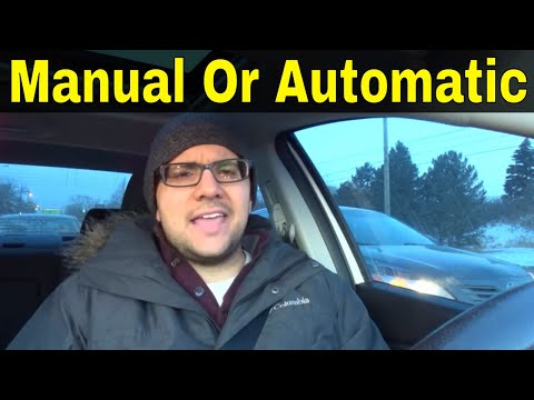 Manual Or Automatic-Which Is Better?