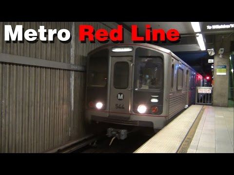 Los Angeles Metro: The Red Line Subway
