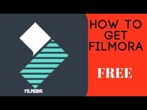 How to get Filmora Full version for free 2018