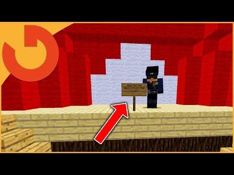 HACKER MAKES ME LAUGH OR PERM BAN! - Minecraft Hacker Games