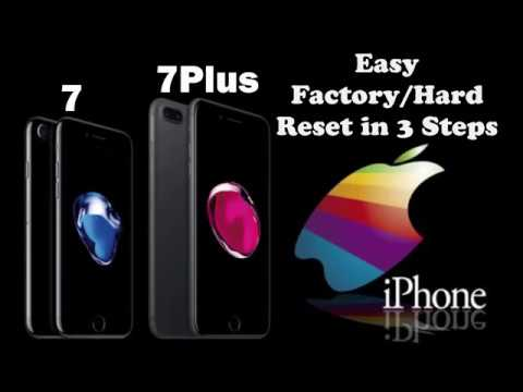 iPhone 7+ Master Reset No iTunes (Password Reset or Disabled?)
