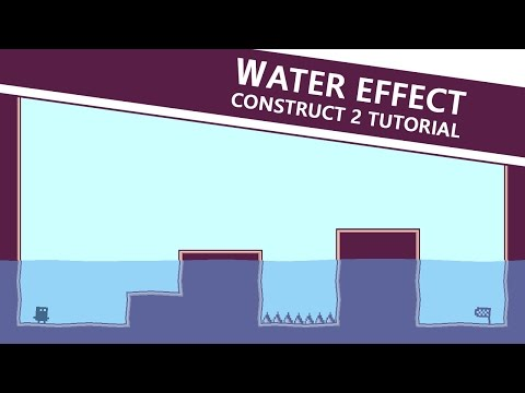 How to make water in your platform game - Construct 2 Tutorial