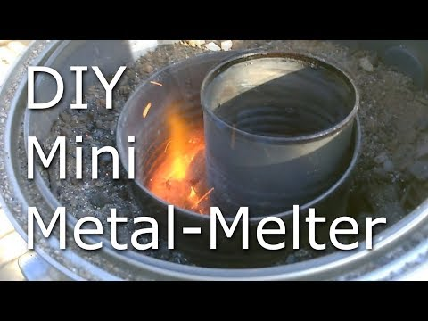 Micro DIY Foundry - Charcoal Fired