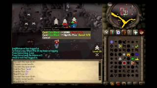 [HD] Runescape 2007 New B Pure Multy Pking Video.