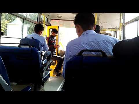 Soni college bus drivers vs Police 👮