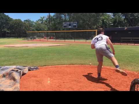 Owen Almeida RHP 2018 3.6 GPA - Side
