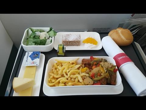 Swiss Business class - Airbus A321 - Flight LX1838 ZRH-ATH