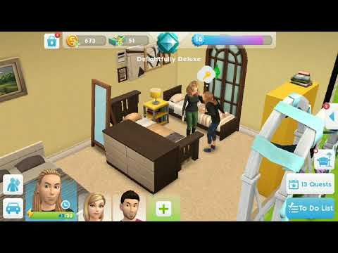 Woohoo with ..... The Sims Mobile
