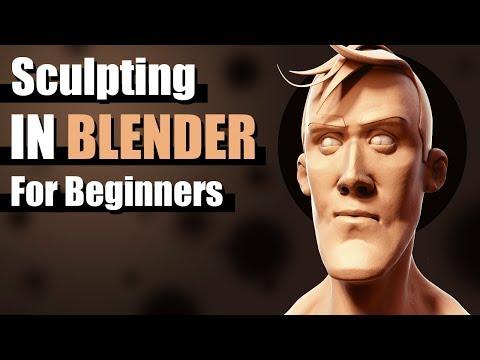 Sculpting In Blender For Beginners - Tutorial