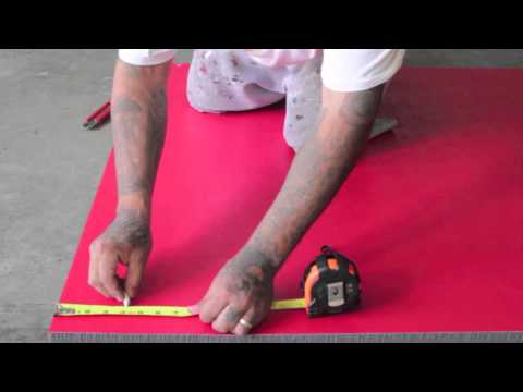 How to cut down an EZ Flex mat