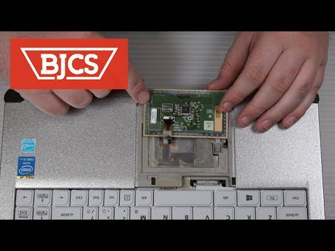 How to Replace the Panasonic Toughbook CF-C2 MK2 Mouse Touch Pad