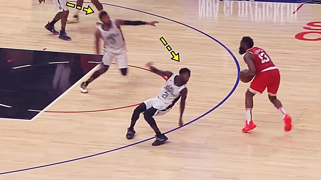 Humiliating Ankle Breakers in NBA