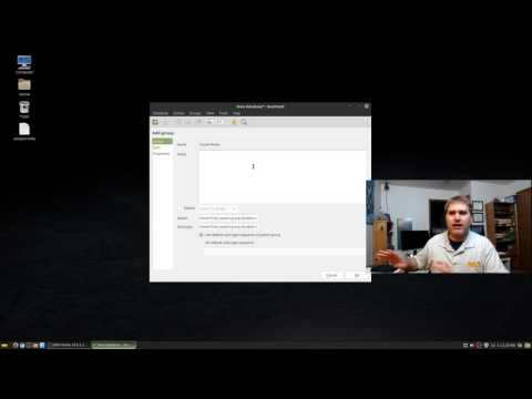 Using KeePassX in Linux Mint