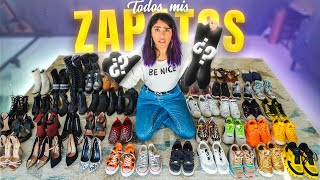LES ENSEÑO TODO! TAG: MIS ZAPATOS | KAREN POLINESIA MUSAS LOS POLINESIOS