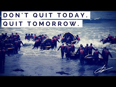 DON'T QUIT TODAY.  QUIT TOMORROW - HOW TO STAY MOTIVATED AS A BUSINESS OWNER |  SwenkToday #87