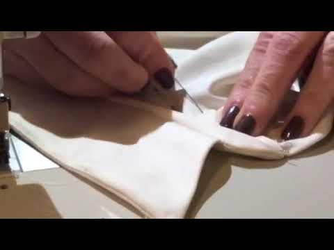 How to sew a collar with a collar stand onto a shirt
