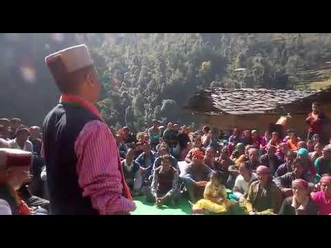 Himachal CM 2017 : awesome speech by Shri Jai Ram ji