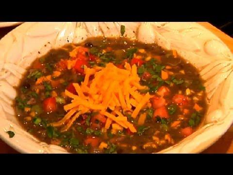 Chicken & Cheese Black Bean Soup : Chicken Recipes